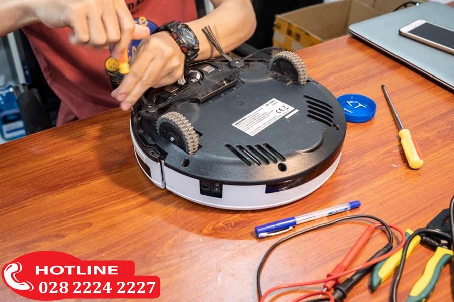 Các dịch vụ sửa robot lau nhà Panasonic tại trung tâm