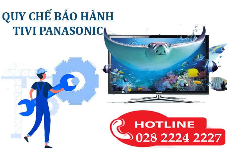 quy định sửa tivi Panasonic